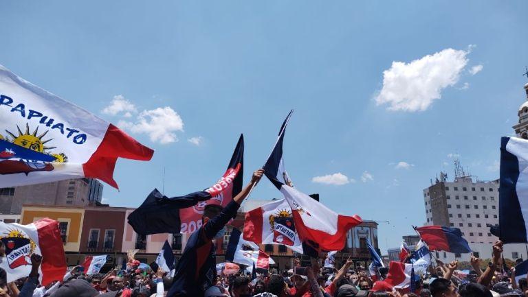 Liga Premier: Afición de Irapuato celebró en las calles ascenso a Liga de Expansión