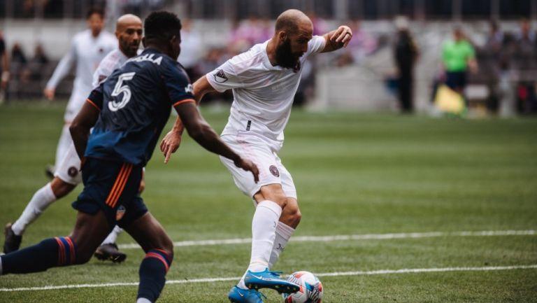Rodolfo Pizarro: El mexicano entró de cambio en la victoria del Inter Miami sobre Cincinnati