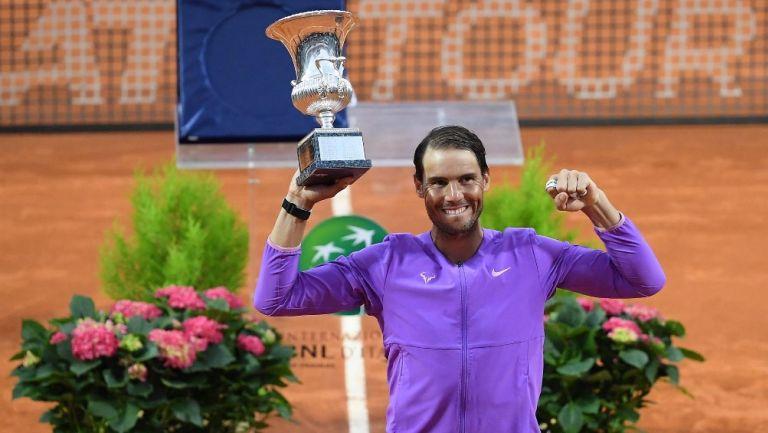 Rafael Nadal: Campeón del Masters 1000 de Roma al vencer a Novak Djokovic