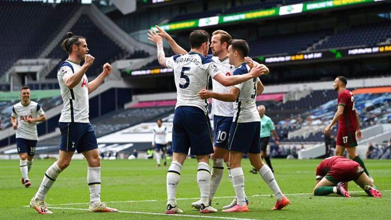 Tottenham doblegó a Wolverhampton y sueña con Champions League