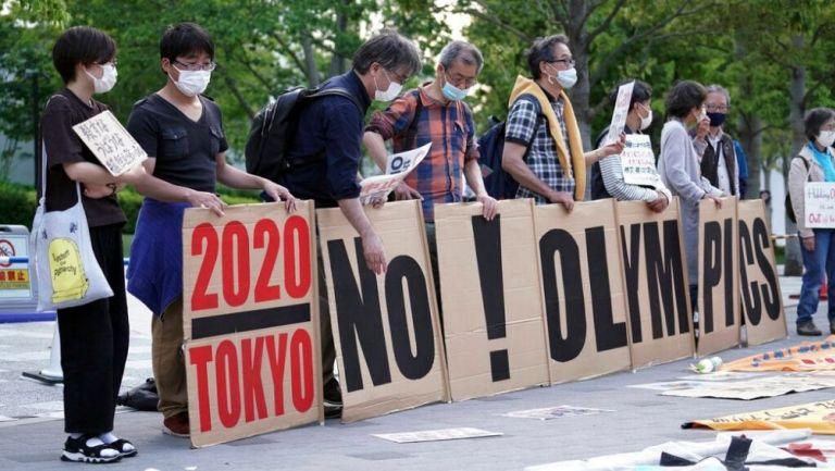 Protestas en Japón por los JJOO