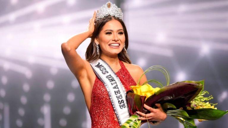 Andrea Meza, ganadora de Miss Universo