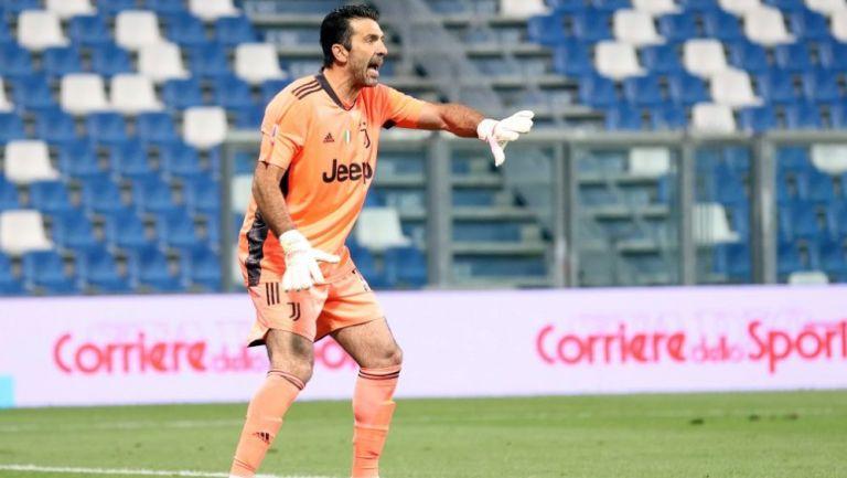 Gianluigi Buffon, portero de la Juventus