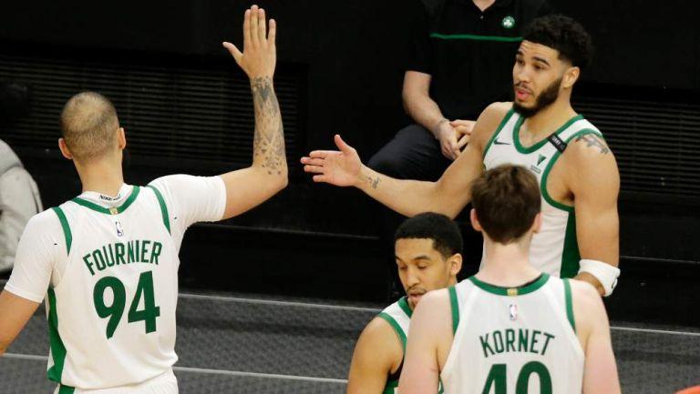 Celtics en celebración