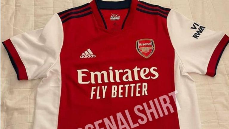 Posible nueva camiseta del Arsenal