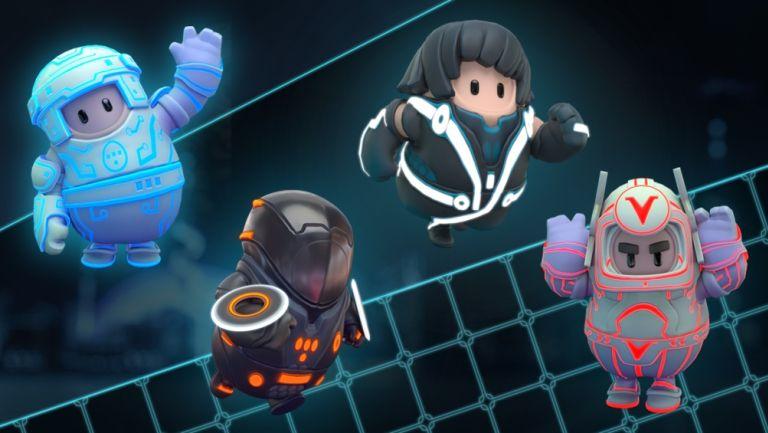 Las nuevas cuatro skins de Fall Guys