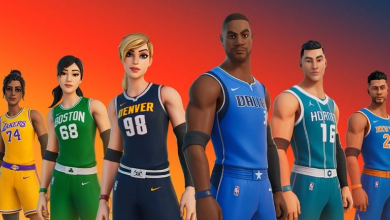 Los uniformes de la NBA dentro de Fortnite