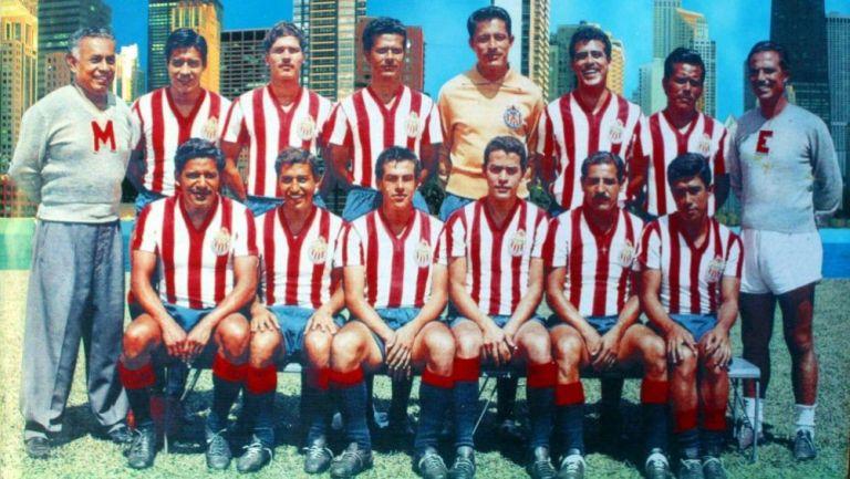 Equipo de Chivas de la década de los 60