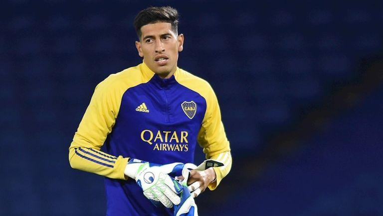Esteban Andrada, portero de Boca Juniors