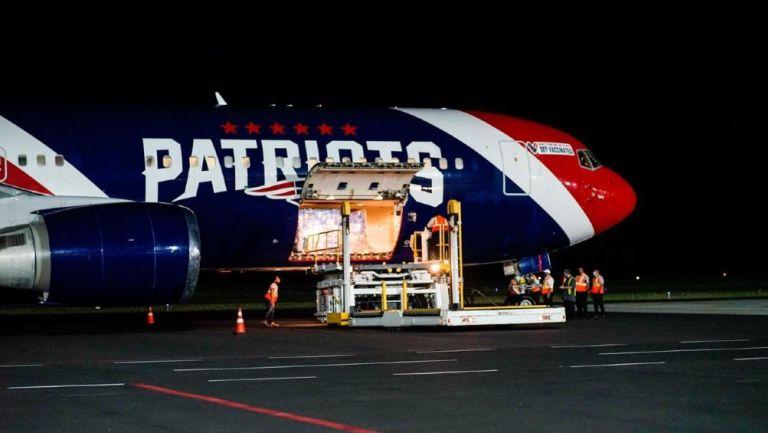 Avión de Pats en El Salvador