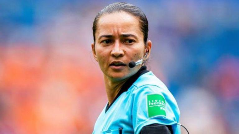 Edina Alves, durante un juego