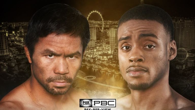 Manny Pacquiao peleará ante Errol Spence