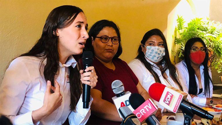 Bianca Velasco, candidata a diputada local del distrito 06
