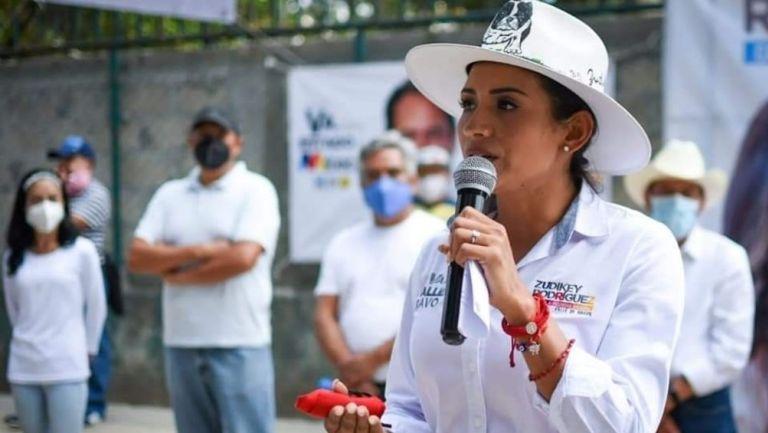 Zudikey Rodríguez fue amenazada de muerte