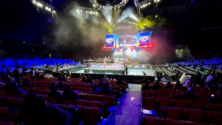 Así lució la Arena Mexico tras reabrir sus puertas al público