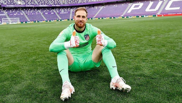 Jan Oblak portero del Atlético de Madrid
