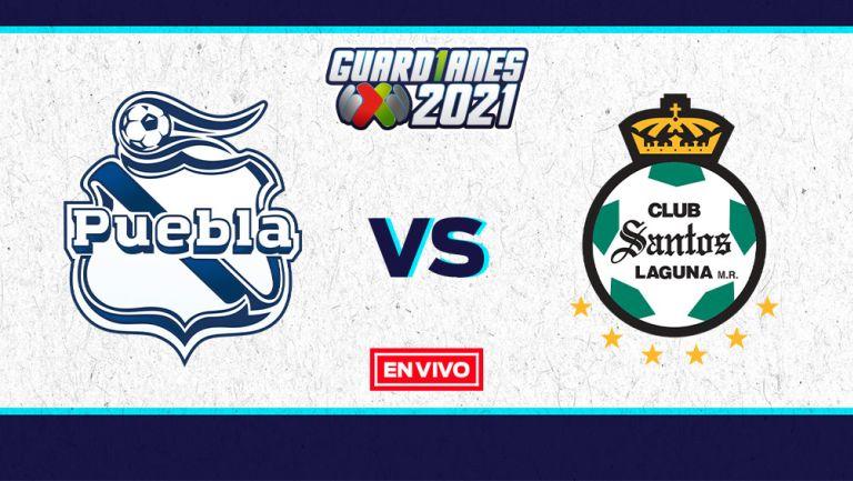 EN VIVO Y EN DIRECTO: Puebla vs Santos 'Semi' Vuelta