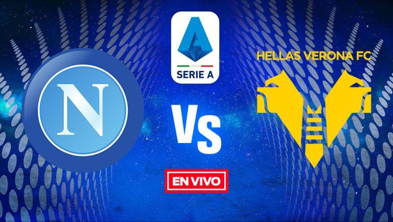 EN VIVO Y EN DIRECTO: Napoli vs Hellas Verona Jornada 38