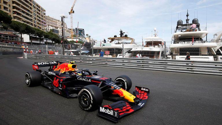 Checo Pérez finalizó cuarto en el Gran Premio de Mónaco