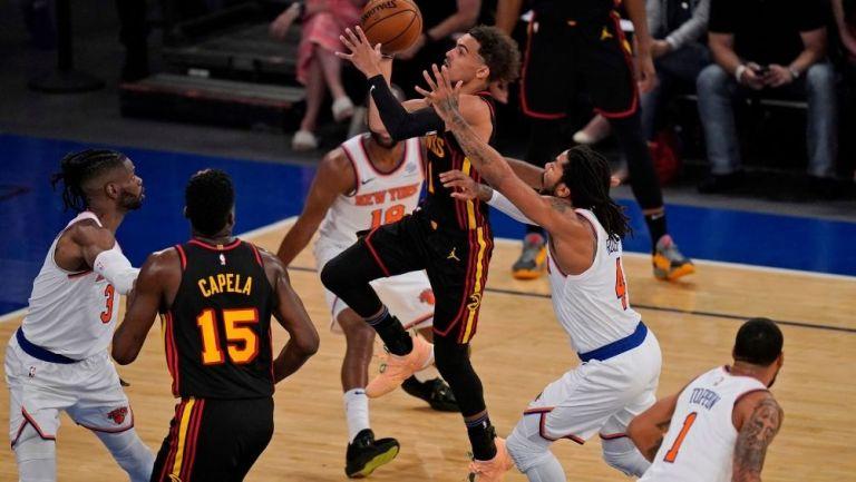 Los Knicks cayeron ante Hawks
