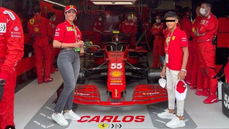 F1: Georgina Rodríguez acudió como espectadora al Gran Premio de Mónaco