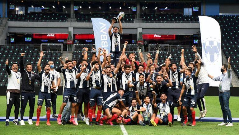 Rayados: Campeón Sub 20 tras vencer a Pachuca