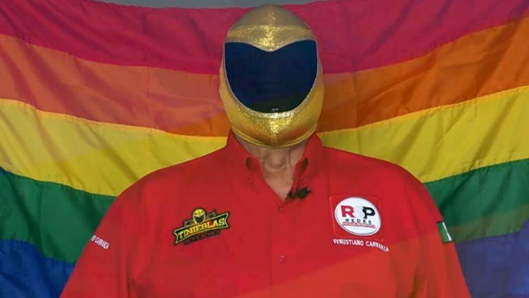 Tinieblas: Tras error en debate, el luchador presentó plan para defensa de la comunidad LGBTTTIQ+