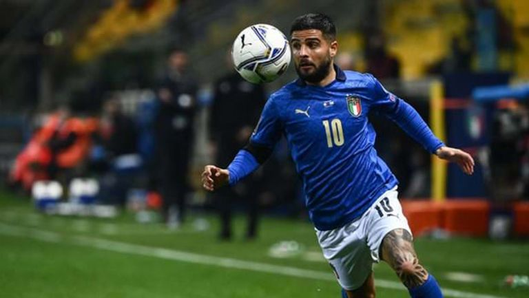 Lorenzo Insigne, en juego con Italia