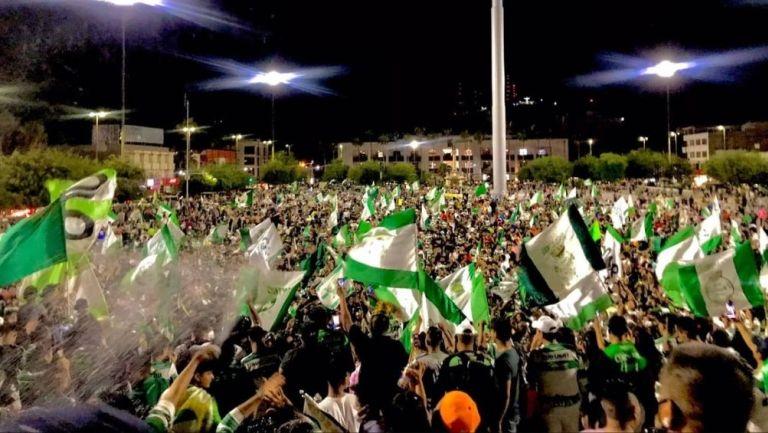 Afición de Santos en Torreón