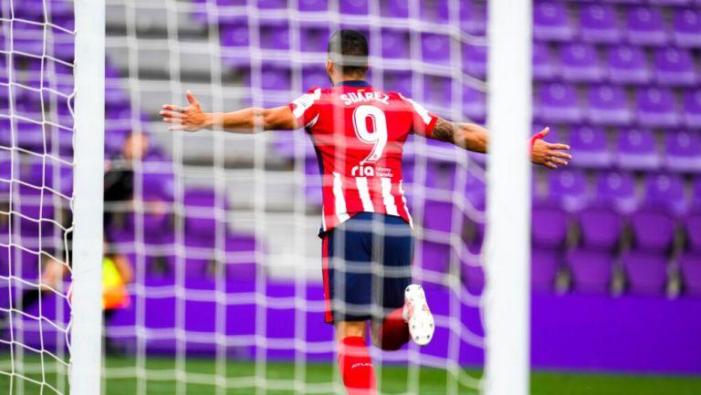 Luis Suárez en victoria frente a Valladolid