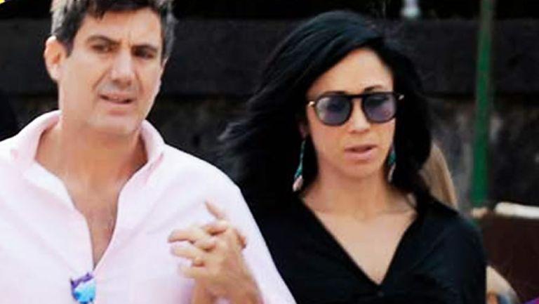 Juan Carlos Gabriel y Mónica Noguera de paseo