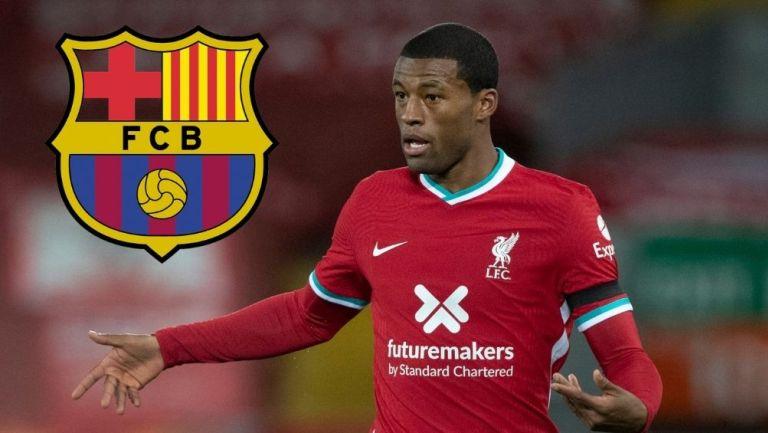 Wijnaldum podría llegar al Barcelona