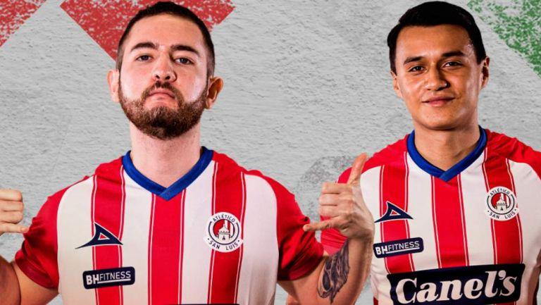 Jugadores de Atlético San Luis