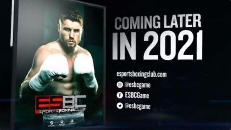 Saúl 'Canelo' Álvarez en el eSports Boxing Club