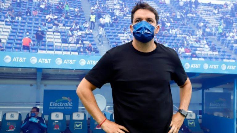 Nicolás Larcamón, técnico del Puebla