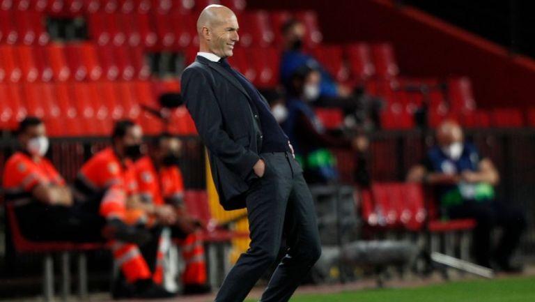 Zinedine Zidane como técnico del Real Madrid
