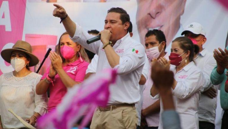 José Alberto Alonso en campaña