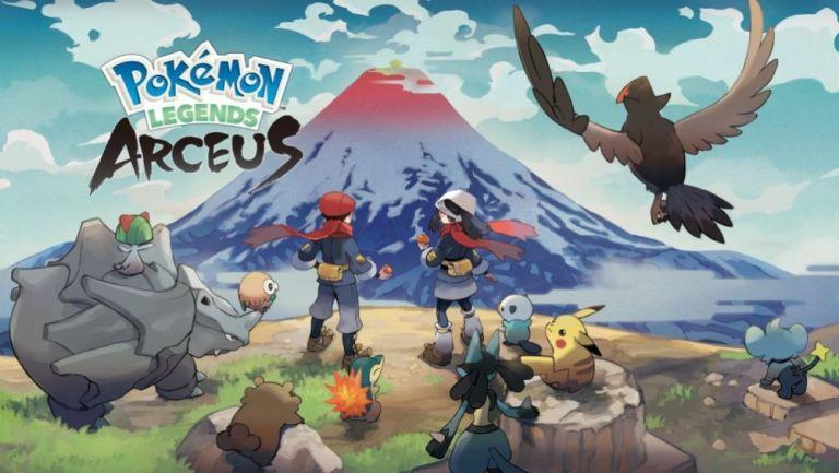 Leyendas Pokémon: Arceus se estrenará el 28 de enero de 2022