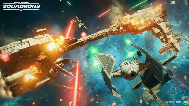 Star Wars: Squadrons estará disponible en PS Plus