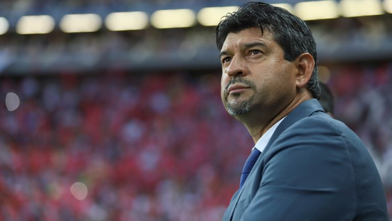 José Saturnino Cardozo previo a un duelo de la Liga MX