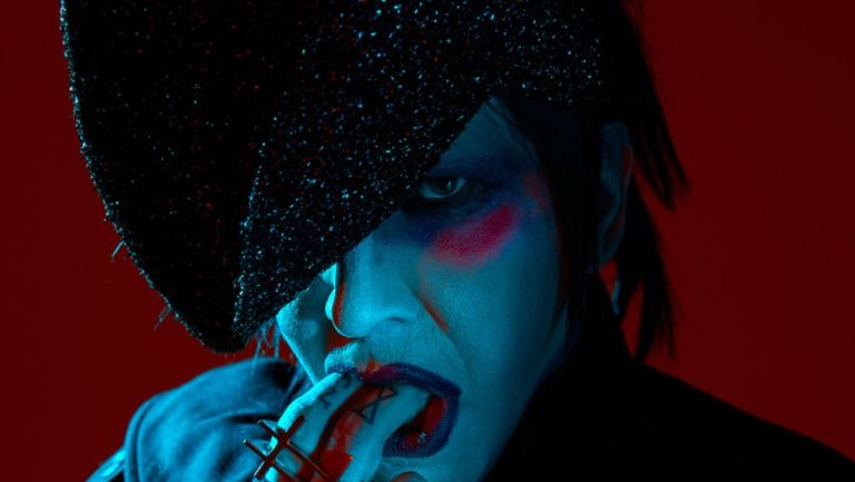Marilyn Manson posa para Halloween