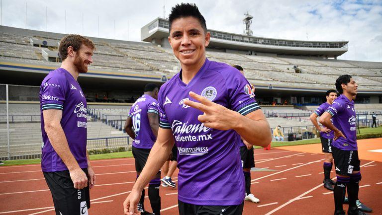 Efraín Velarde, durante un partido de Mazatlán en CU