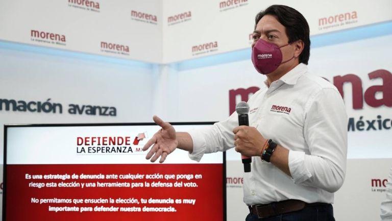 Mario Delgado: Dirigente de Morena denunció haber sido detenido en Tamaulipas con armas largas
