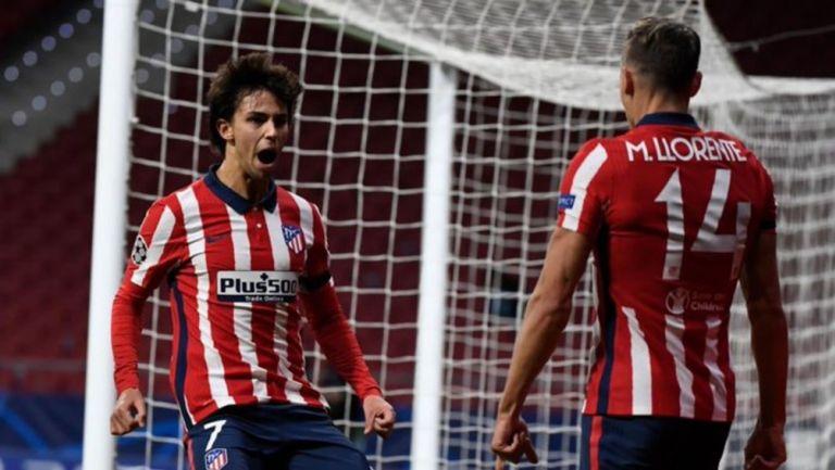 João Félix celebra gol con el Atlético de Madrid