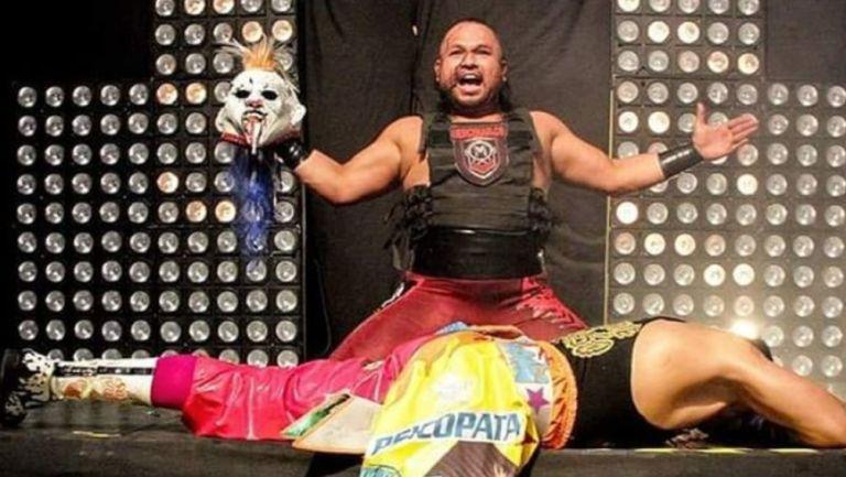 Rey Escorpión aseguró que Psycho Clown está inflado