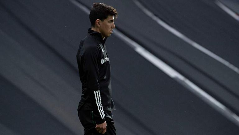Erick Gutiérrez en partido con PSV