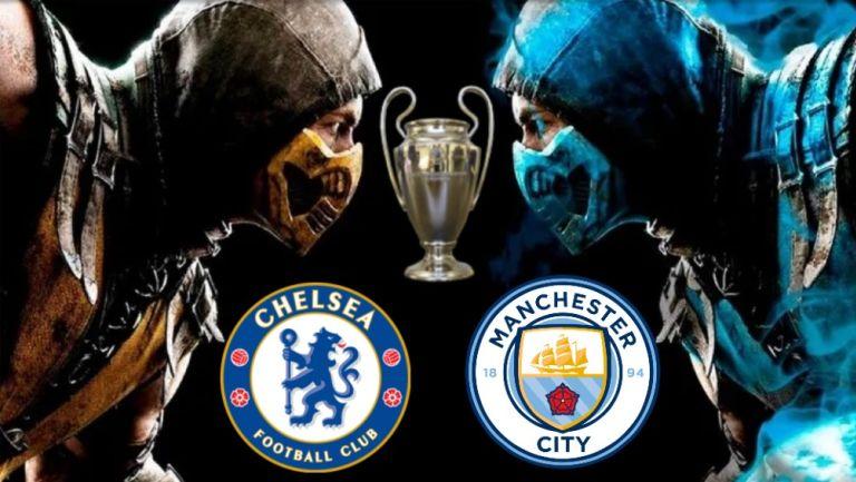 Champions League: Combate Mortal entre Manchester City y Chelsea por la Orejona
