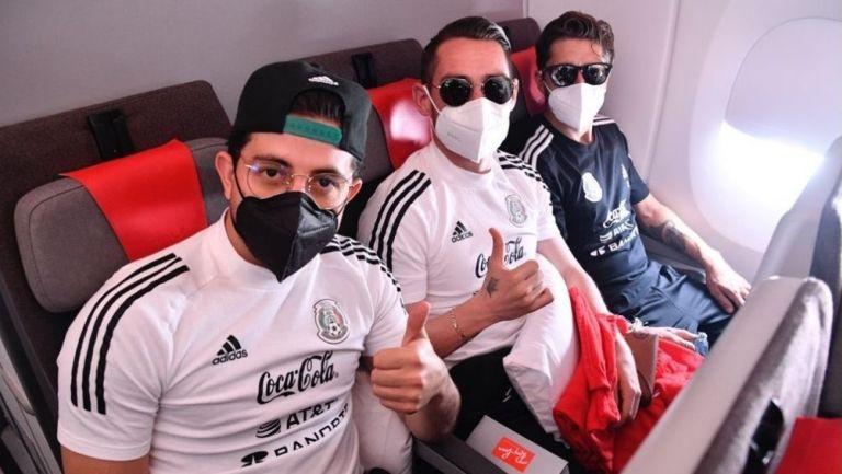 Selección Mexicana viajó a España