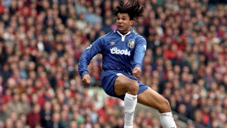 Ruud Gullit en su paso por el Chelsea