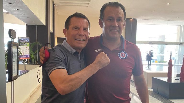 Cruz Azul: Julio César Chávez deseó que La Máquina gane el título